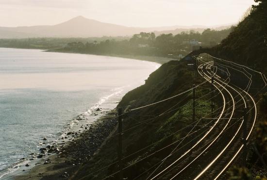 killiney beach and railroad