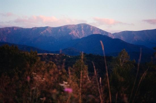 Balkan mountain range on film